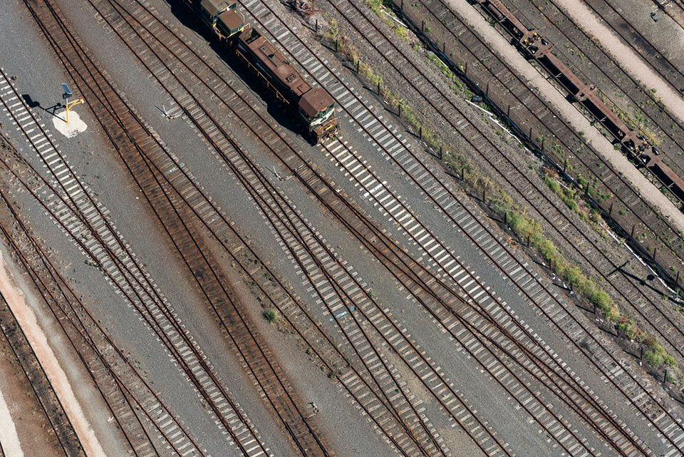 Фото: промзона Мельбурна, снятая свертолёта. Изображение № 16.
