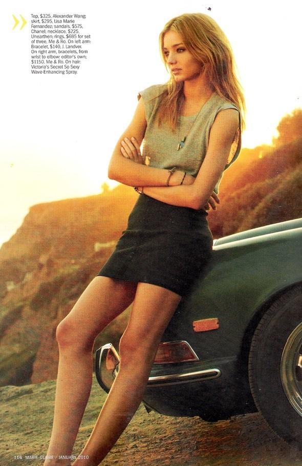 Miranda Kerr - Marie Claire - January 2010. Изображение № 3.