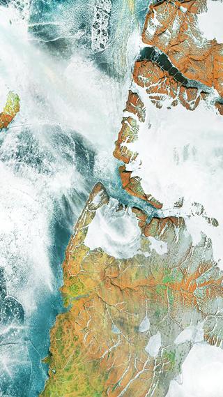 Сайт дня: обои для айфонов из спутниковых карт. Изображение № 18.