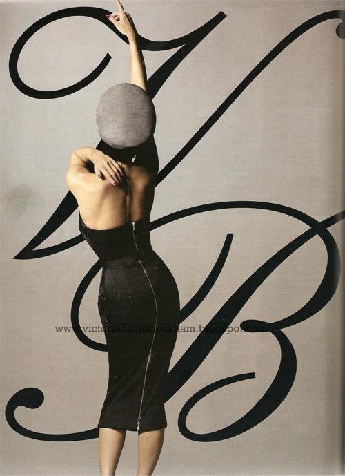 Posh Spice вновом Vogue (Россия). Изображение № 3.