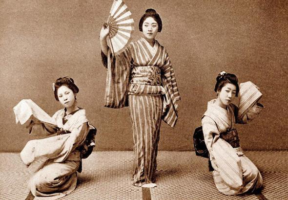 «Широкий ремень» или традиционные японские пояса Оби и Маваси. Изображение № 7.