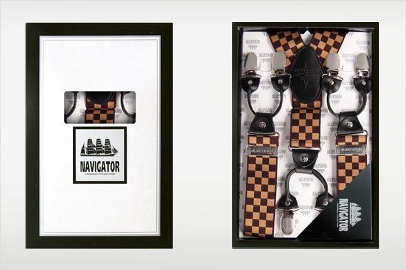 Коллекция подтяжек «Навигатор» от Sevaro Elit . Изображение № 5.