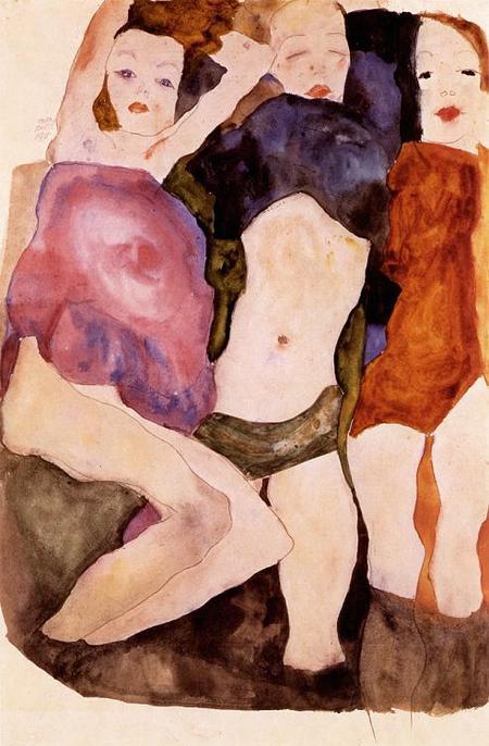 Эгон Шиле. Эротика вискусстве живописи ирисунка. Изображение № 4.