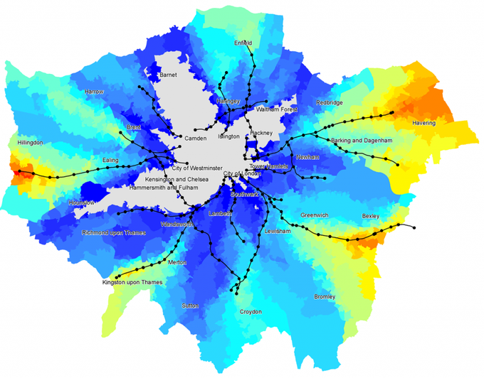 В Лондоне построят воздушную велотрассу. Изображение № 2.