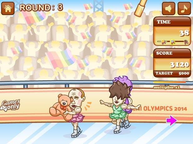 Путин стал фигуристом в новой игре про Олимпиаду. Изображение № 2.