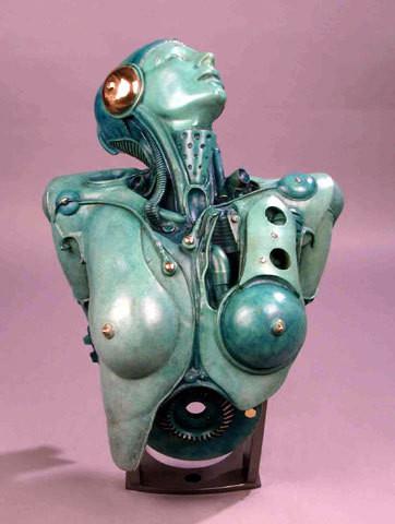 Pierre Matter. Скульптурная биомеханика. Изображение № 5.