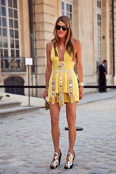Уличный стиль на Неделе высокой моды в Париже. Изображение № 29.