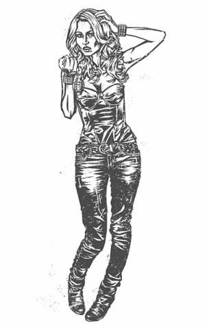 Девушки с оружием от Frank Barbara. Изображение № 24.