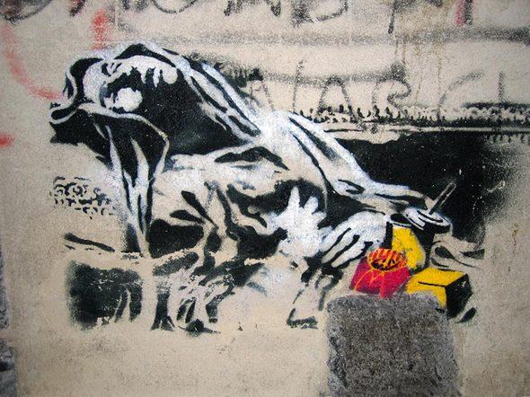 Изображение 30. Banksy (уличная мышь – герой).. Изображение № 30.