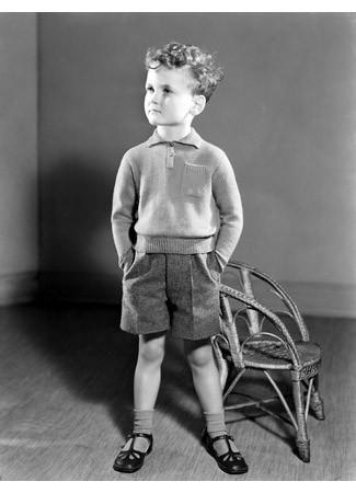 Школьник младшего класса, 1940-е. Изображение № 9.