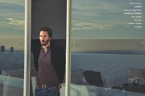 Keanu Reeves forVogue Hommes. Изображение № 4.