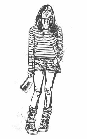 Девушки с оружием от Frank Barbara. Изображение № 42.