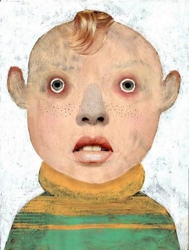 Абсурдные и привлекательные портреты Хуима Тио. Изображение № 15.