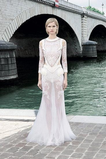Изображение 1. Показана новая кутюрная коллекция Givenchy.. Изображение № 7.