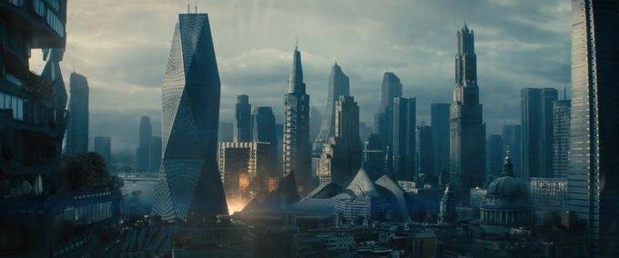 Дизайнеры показали процесс создания городов из «Стартрека». Изображение № 2.