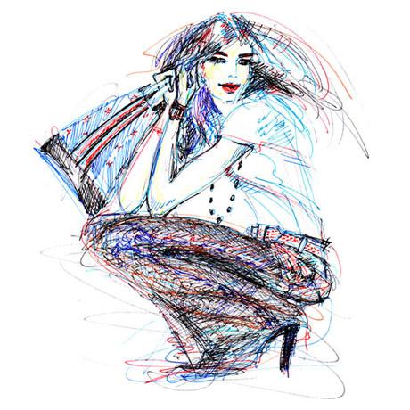 Иллюстрации Antoinette-Fleur. Изображение № 8.
