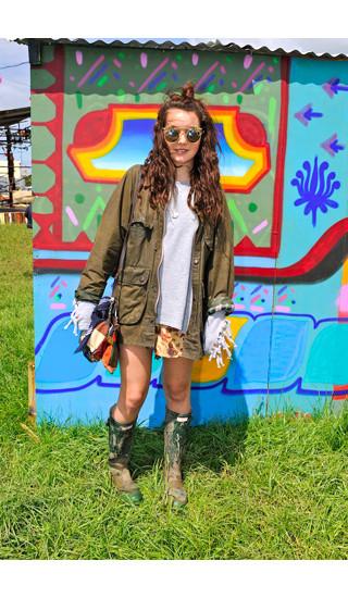 Изображение 21. Уличный стиль на фестивале Glastonbury.. Изображение № 21.