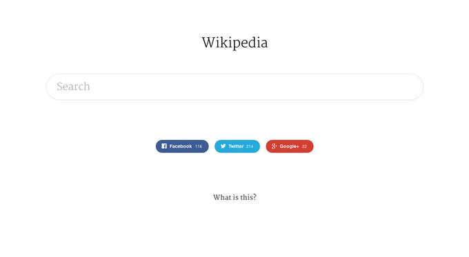 Ещё один классный редизайн Wikipedia. Изображение № 1.