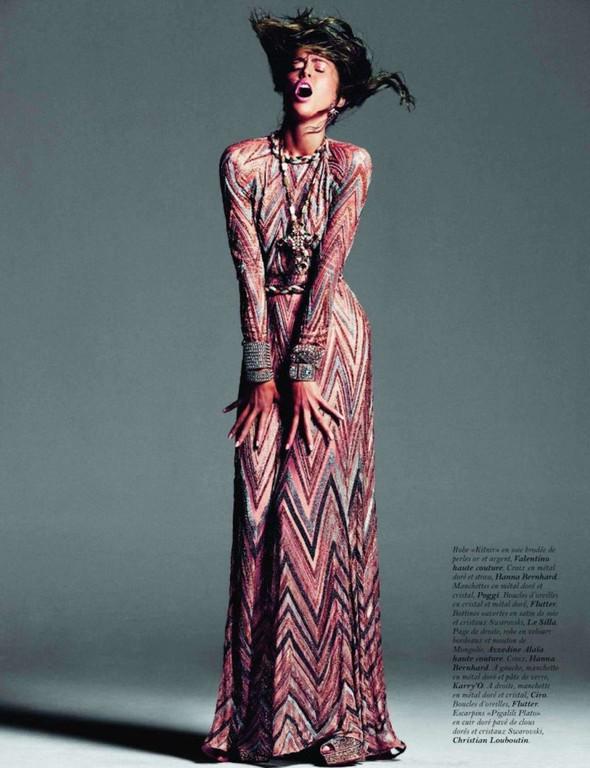 Съёмка: Ракель Зиммерманн для Vogue. Изображение № 10.