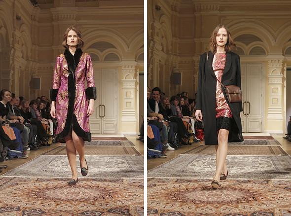 Изображение 6. A'la Russe FW 2011: пальто в пол и широкие брюки.. Изображение № 6.