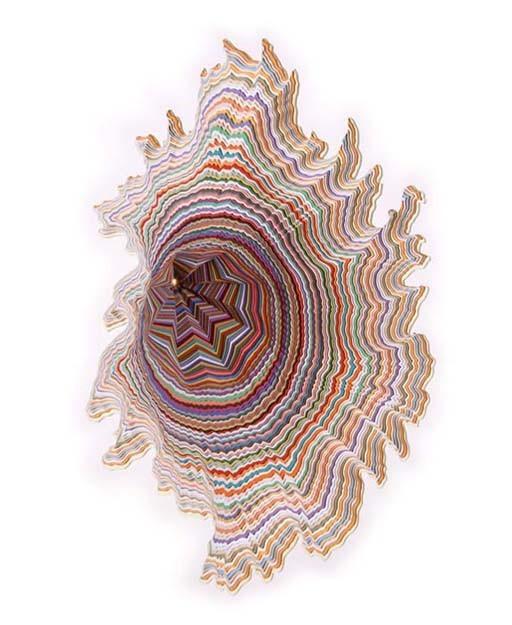 Объемные скульптуры из бумаги Jen Stark. Изображение № 27.