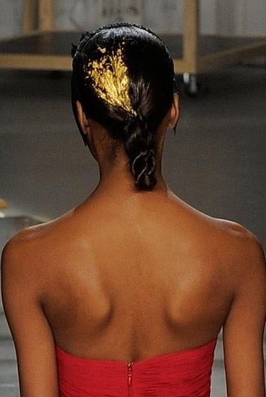 Изображение 18. Beauty looks на неделе моды в Нью-Йорке.. Изображение № 18.