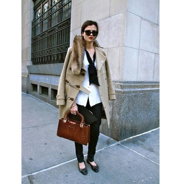 Изображение 16. На полях: 10 тенденций уличного стиля с прошедших недель моды.. Изображение № 16.