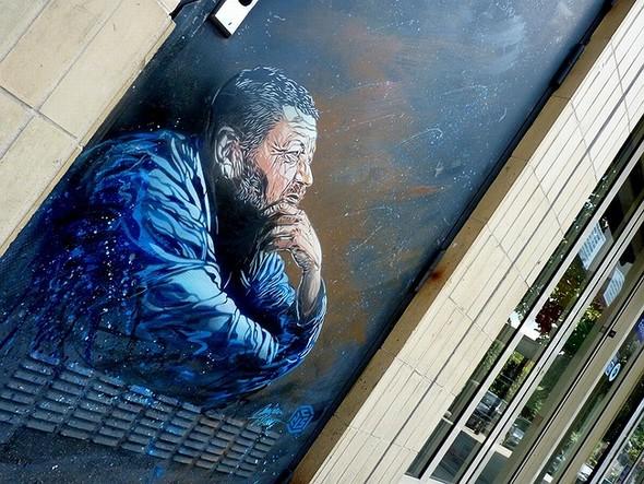 Стрит-арт в Париже. Изображение № 14.