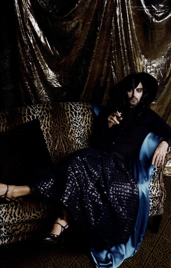 Изображение 78. Съемки: Harper's Bazaar, Industrie, Vogue и другие.. Изображение № 11.