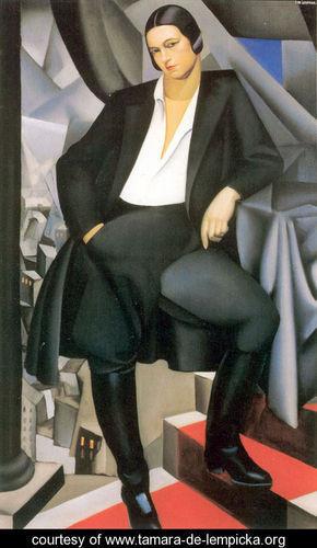Тамара де Лемпицка – художница и икона Арт Деко. Изображение № 12.