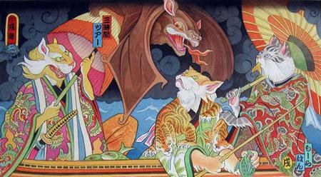 Звериная Япония Мойры Хан. Изображение № 24.