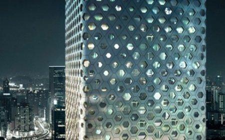 Сотовый небоскреб отMAD Architects. Изображение № 3.