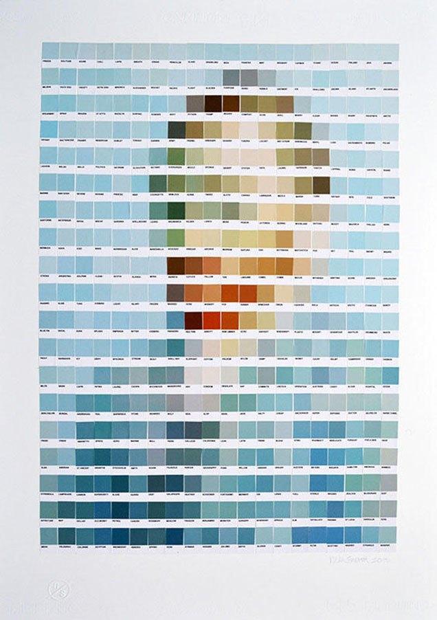 Фото: известные картины в цветах Pantone. Изображение № 8.