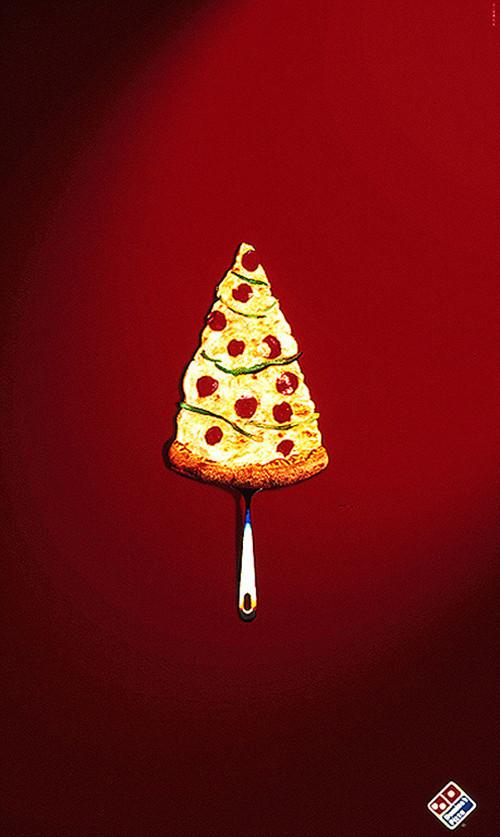 Новогоднее - Рождественский креатив в рекламе. Изображение № 30.