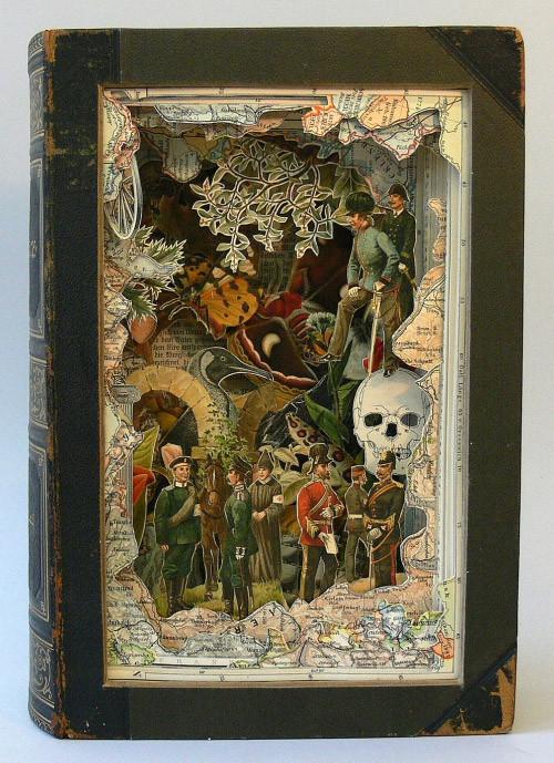 Книжные работы Alexander Korzer-Robinson. Изображение № 16.