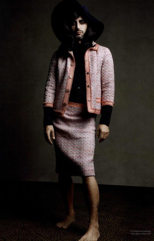 Изображение 76. Съемки: Harper's Bazaar, Industrie, Vogue и другие.. Изображение № 9.