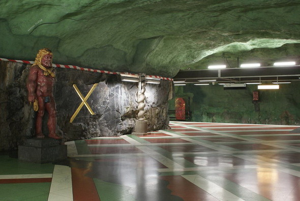 Шведский метрополитен. Изображение № 23.