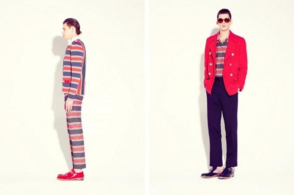 Новые мужские лукбуки Louis Vuitton, Marc Jacobs и Fred Perry. Изображение № 35.