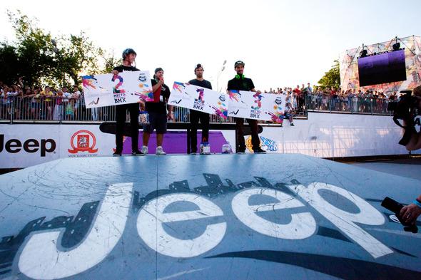 Jeep – генеральный cпонсор экстремальных Игр Adrenalin Games – 2012. Изображение № 1.
