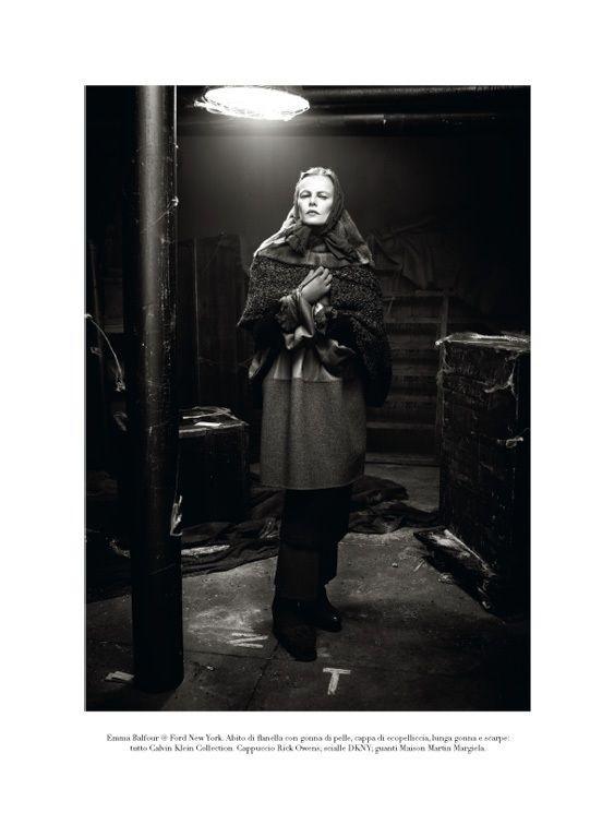 "Съёмка: ""Winter's Edge"" by Steven Meisel. Видите Россию?. Изображение № 10."