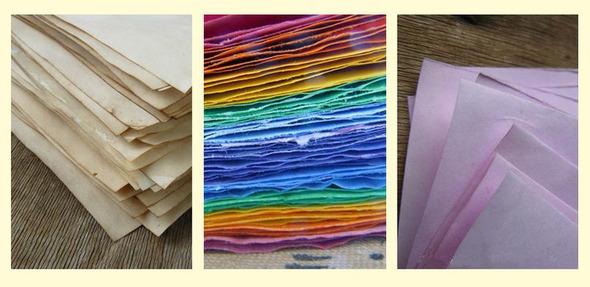 Как покрасить бумагу.. Изображение № 1.