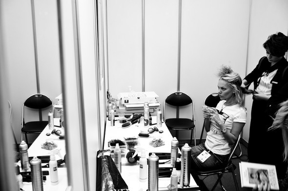 BACKSTAGE Masha Tsigal A/W 13 / foto by Ross Laurence. Изображение № 1.