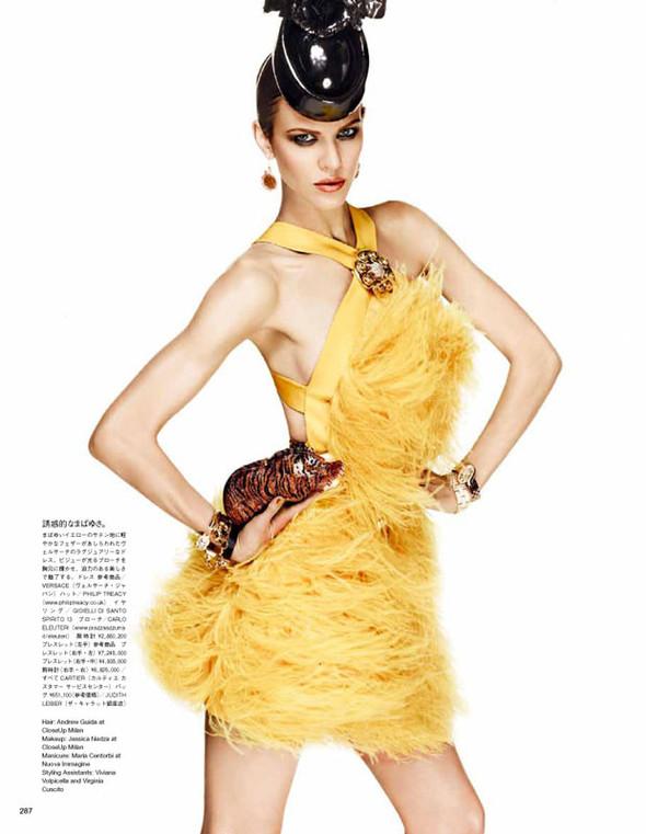 Съёмка: Эмелин Валад для Vogue. Изображение № 9.