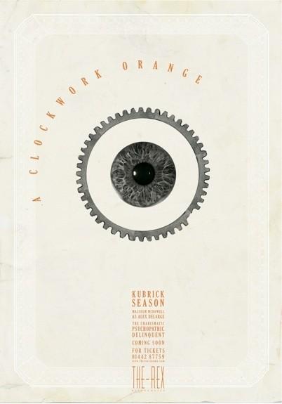 A Clockwork Orange - 20 кинопостеров на тему ультранасилия. Изображение № 19.