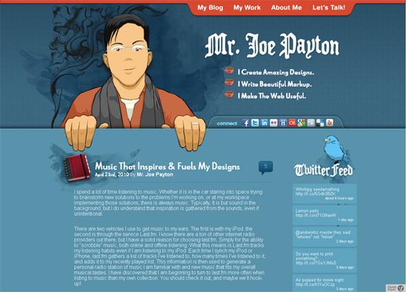 Персонажи в дизайне сайтов. Изображение № 1.