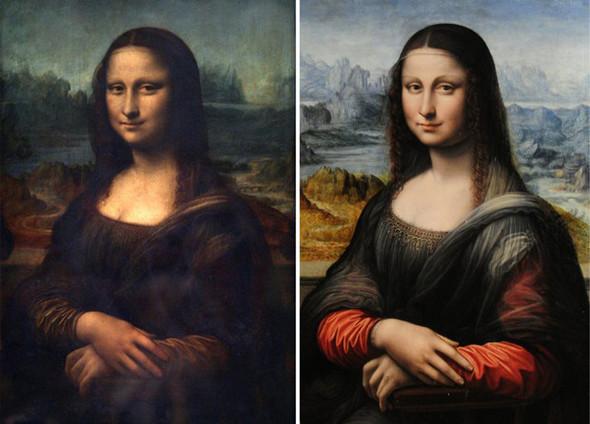 У Моны Лизы есть «сестра-близнец». Изображение №2.