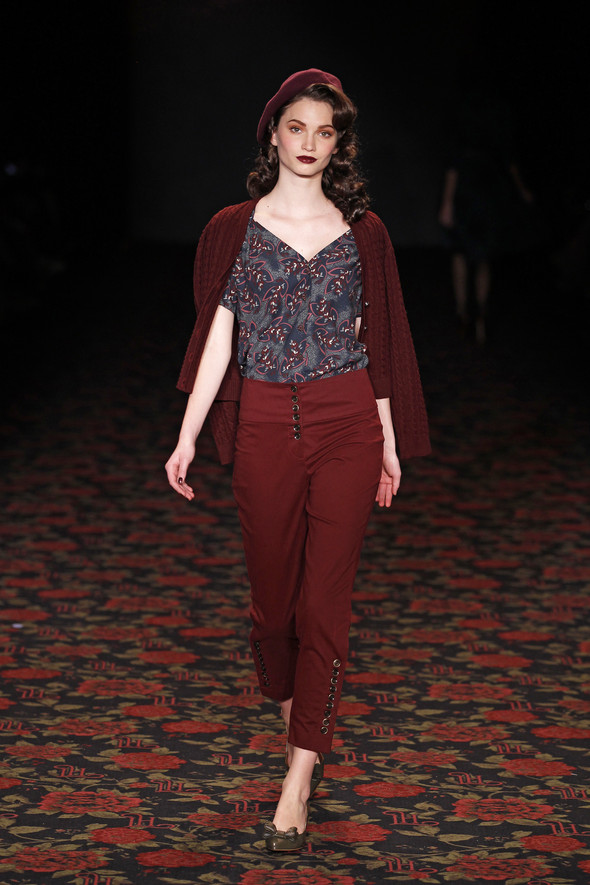 Berlin Fashion Week A/W 2012: Lena Hoschek. Изображение № 21.
