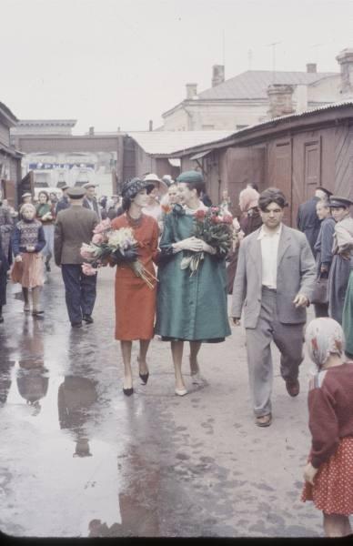1959 г. Christian Dior в СССР. Изображение № 7.