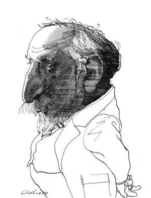 Карикатуры на писателей. Изображение № 46.