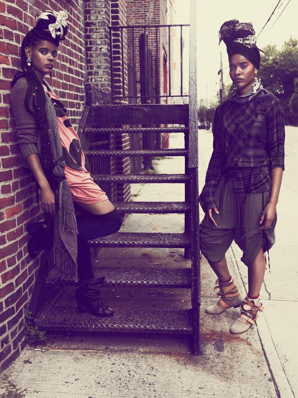 Съёмка: Нью-йоркский стрит-стайл в Interview. Изображение № 4.
